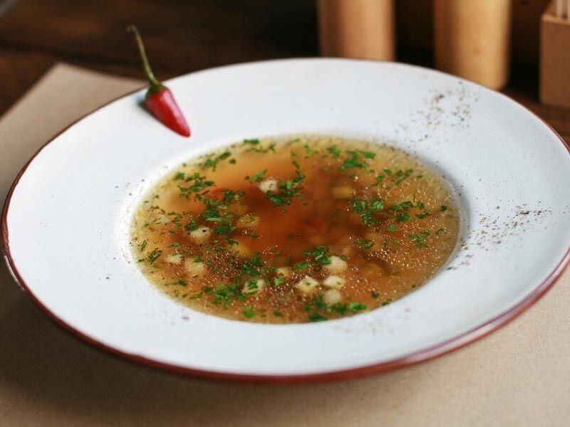 Рецепт полезного супа для детей от известного повара
