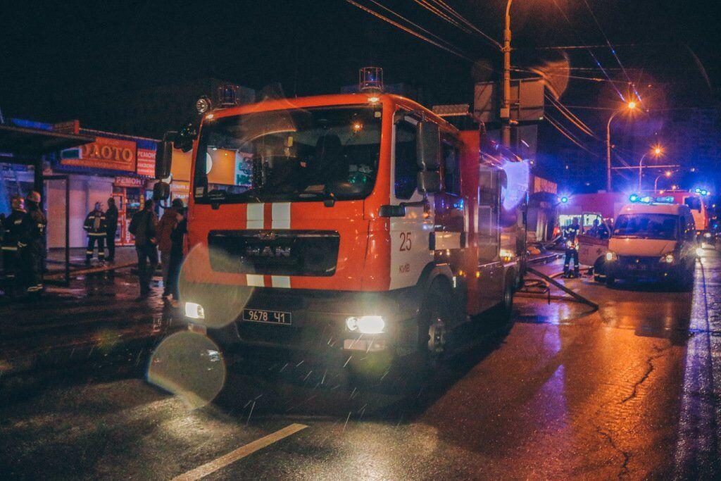 "Пожар на ""Минском"" рынке"