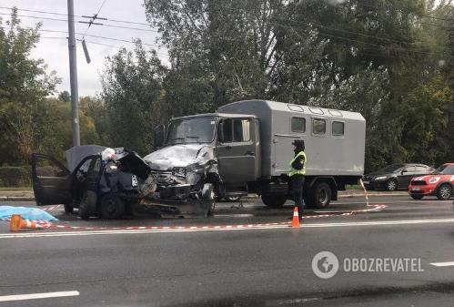 ДТП с полицейским в Киеве: стали известны подробности трагедии