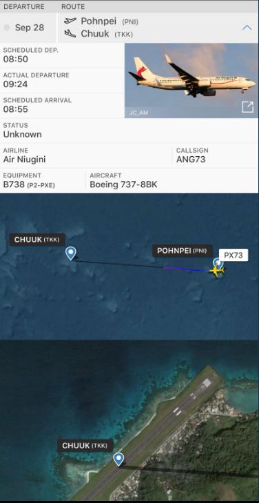Пасажирський літак= ''звалився''= в= океан= у= мікронезії