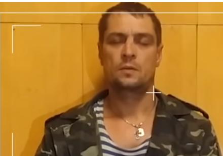 Наемник РФ признался, зачем приехал на Донбасс