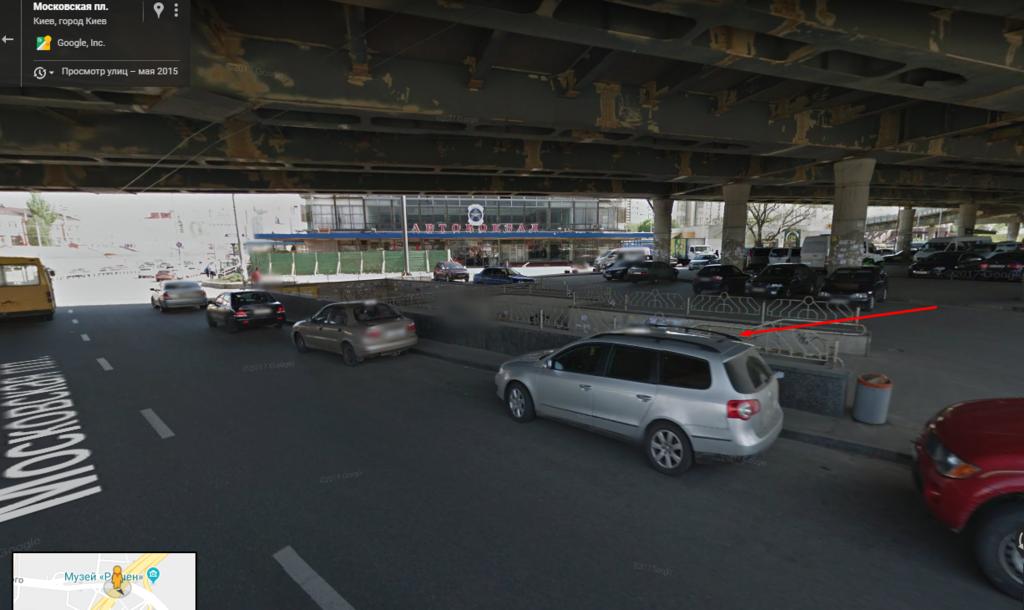Преступление произошло в подземном переходе, рядом с автовокзалом