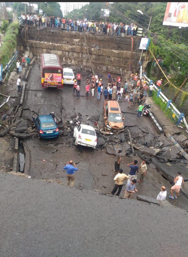 Обвалення моста в Калькутті