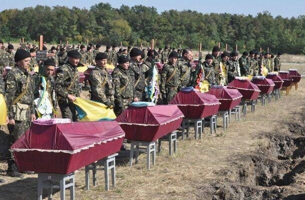 Похороны погибших под Иловайском