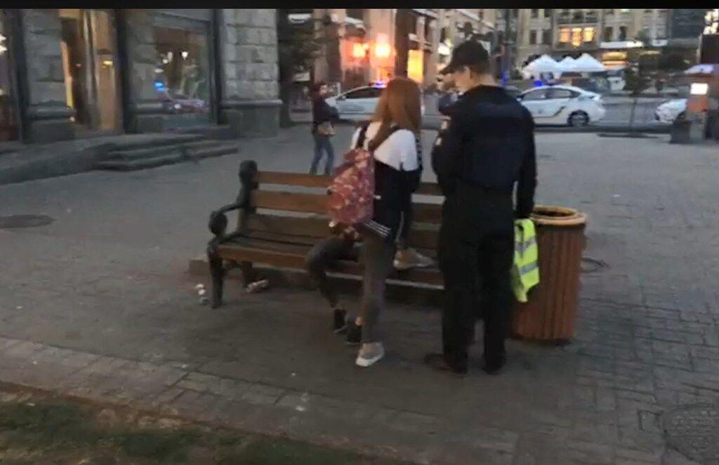 """В центре Киева толпа подростков устроила """"резню"""""""