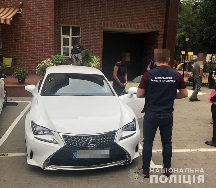 """Глава общественного совета ГФС Киева """"погорела"""" на взятке"""