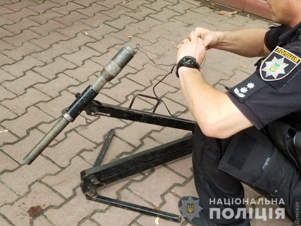 В Одессе хотели взорвать руководителя МГУ: опубликованы фото