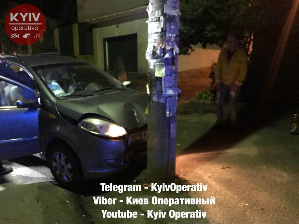 Неадекватная киевлянка устроила пьяную истерику