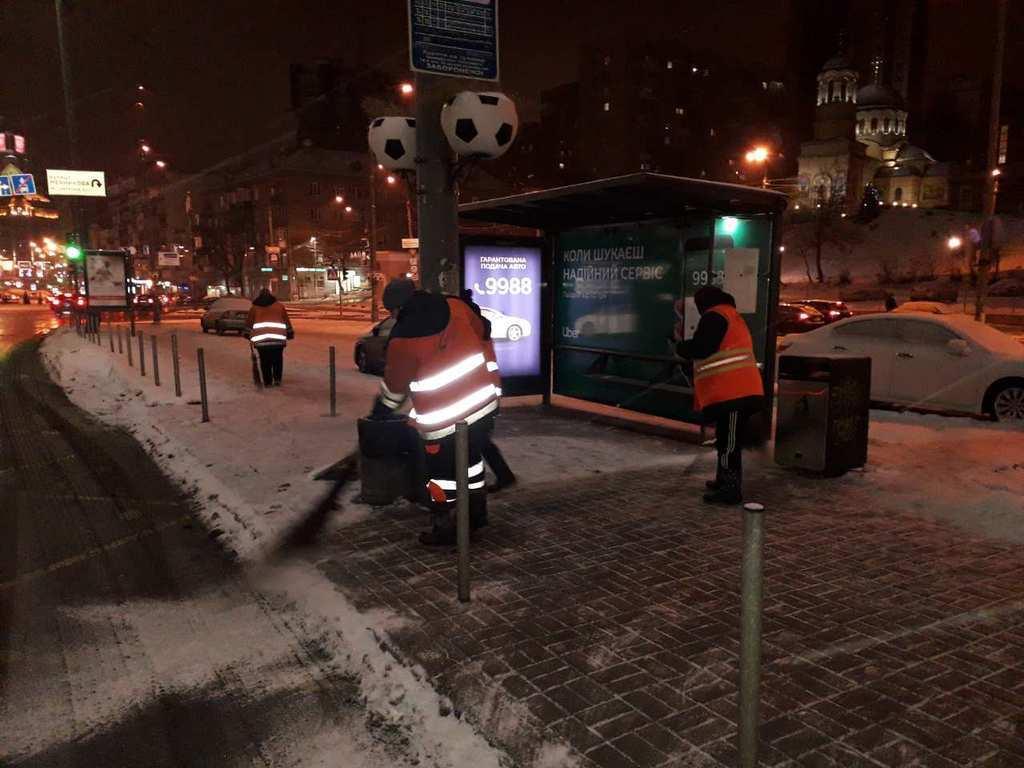 Столичні служби підготувалися до снігопаду 12 січня – КМДА