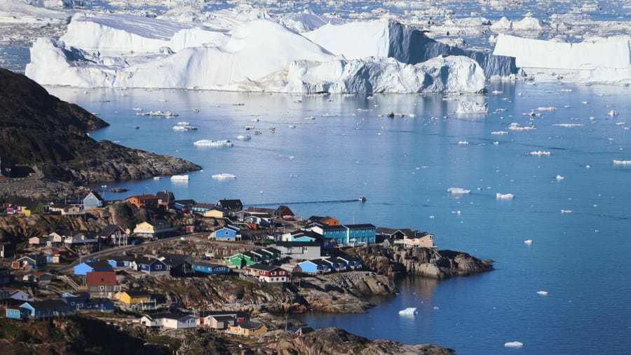 Фьорд Илулиссат (Гренландия)