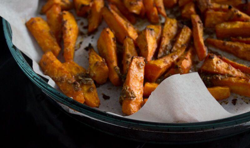 Запечена морква