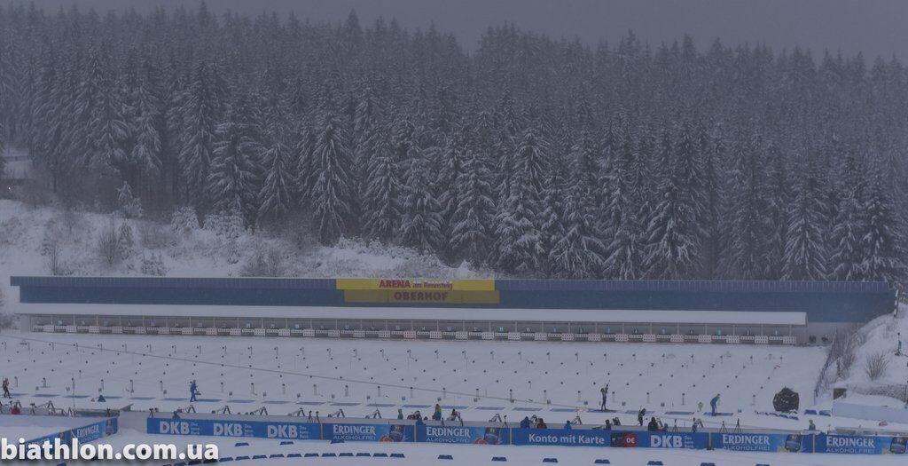Этап Кубка мира по биатлону в Оберхофе