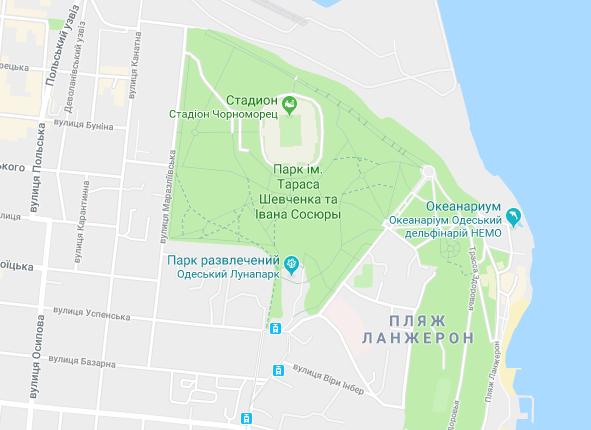 Труханову ''подарували'' цвинтар у Google