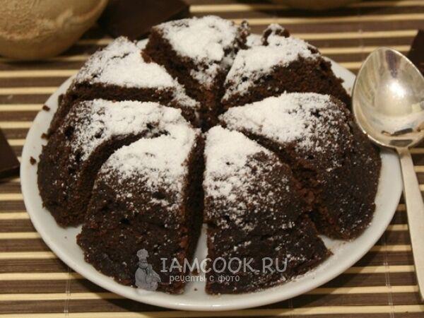 Швидкий шоколадний кекс