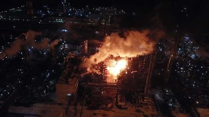 Пожежа на хімзаводі в Калуші: названо причину