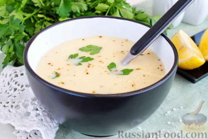 Грецький курячий суп авголемоно