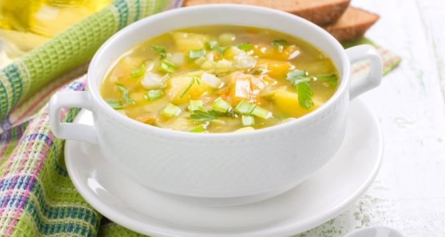 Курячий суп з цвітною капустою