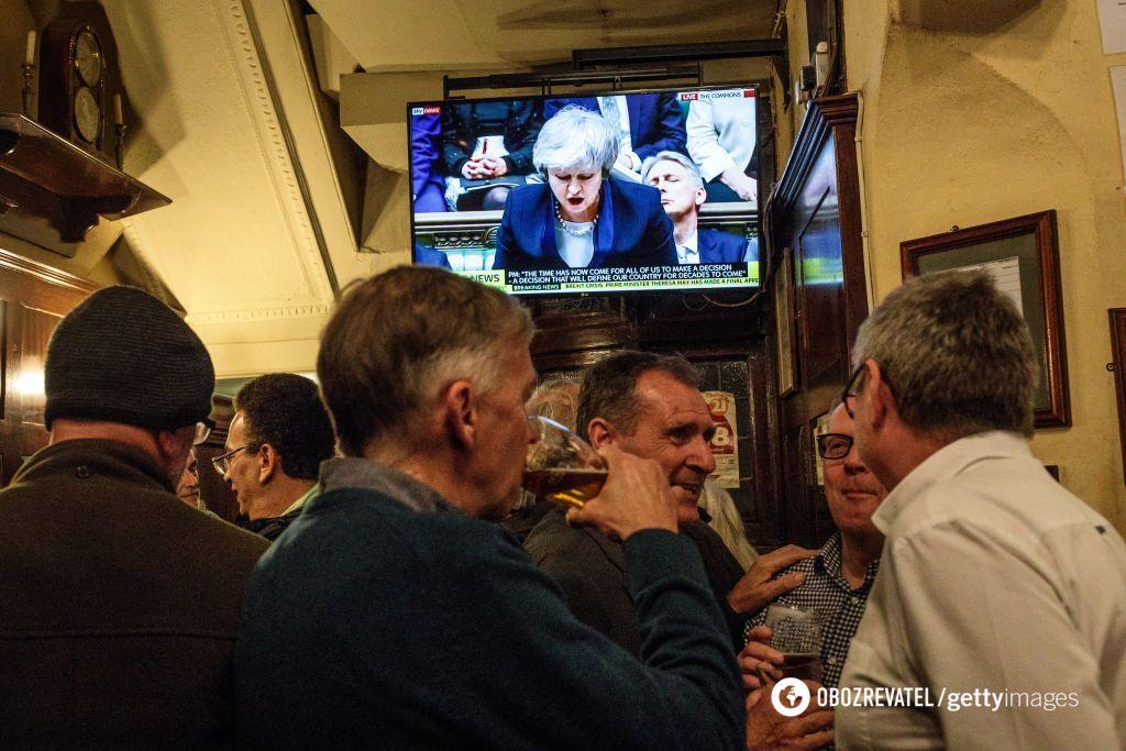 Британское правительство потерпело поражение