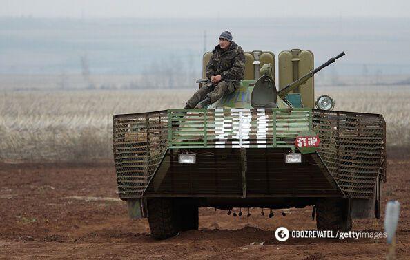 На Донбассе взорвали машины с бойцами ВСУ