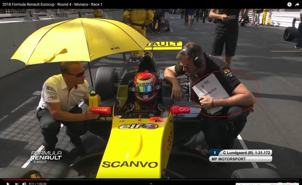 Герб України на автогонках у Монако викликав фурор у соцмережах