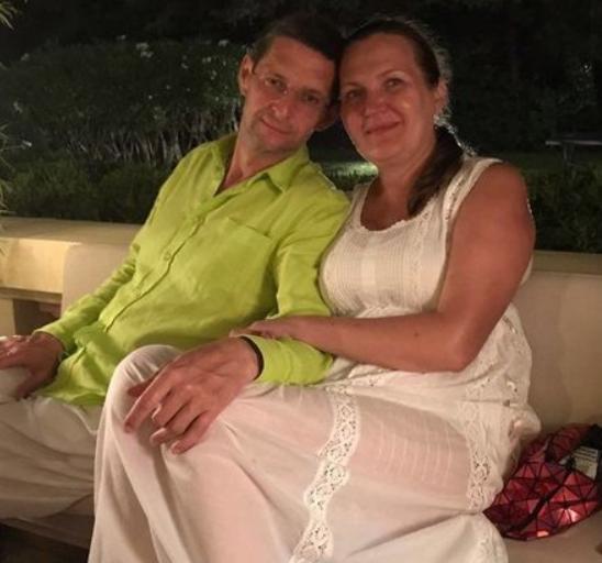 Виталий Ковальчук с бывшей женой