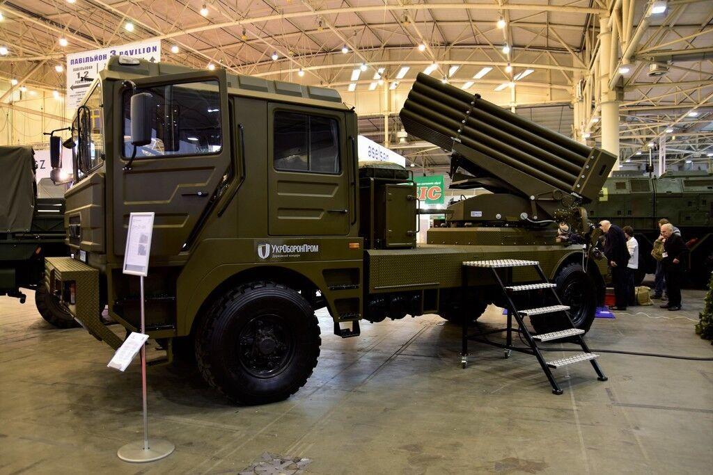 В Украине похвастались новой боевой машиной