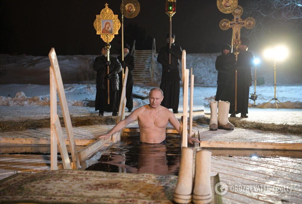 Путін після провалу приховав фото з ополонки