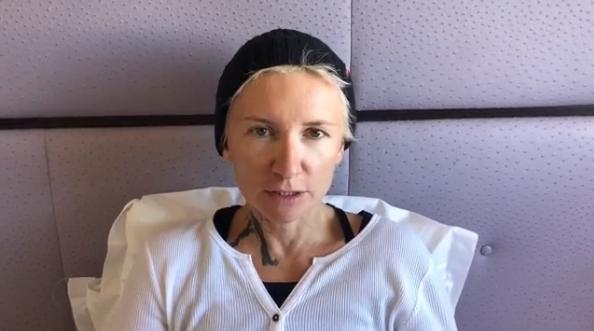 Діана Арбеніна після серцевого нападу