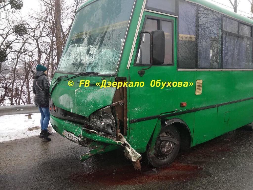 Под Киевом произошло масштабное ДТП с маршруткой: много погибших