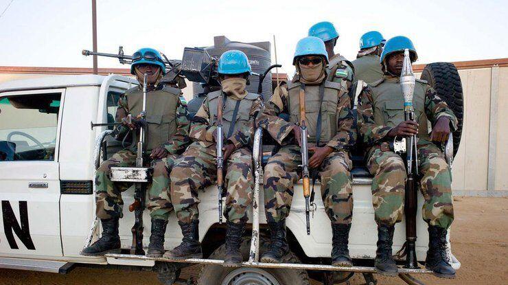 Миротворцы были направлены в Мали в 2012 году