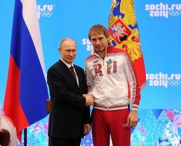 Володимир Путін і Антон Шипулін