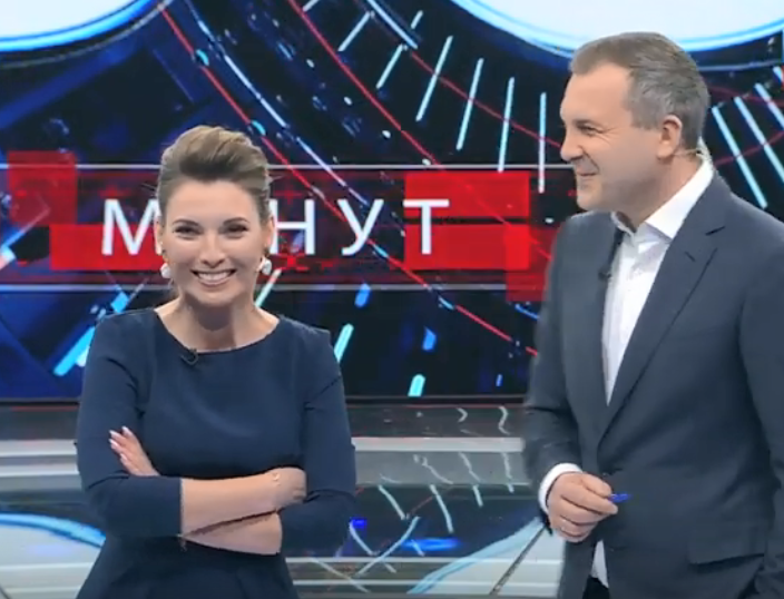 Ольга Скабеева и Евгений Попов
