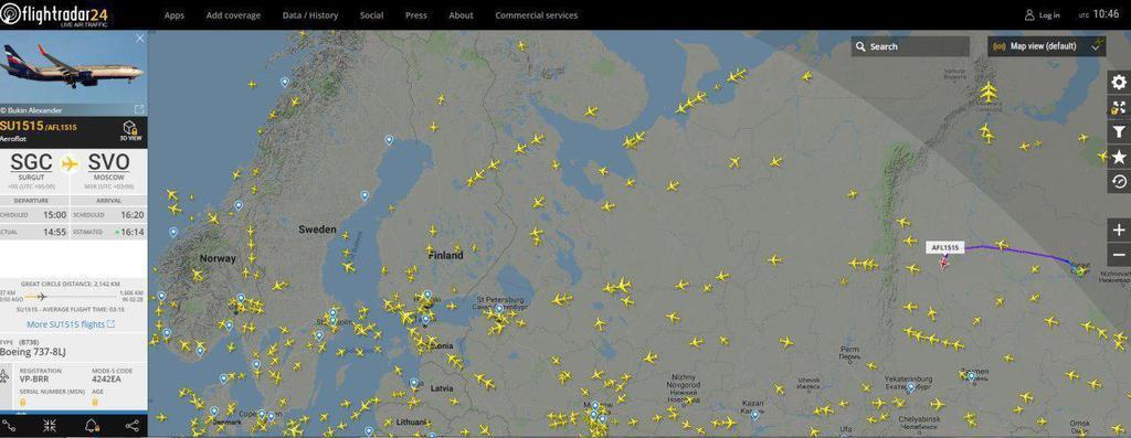 У Росії захопили пасажирський літак: що відомо