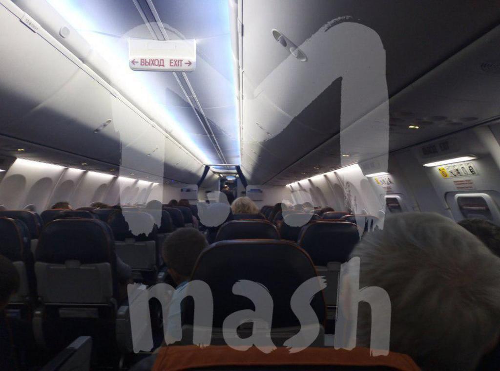 Появилось видео штурма захваченного в РФ самолета
