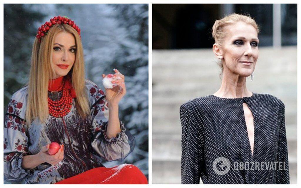 Селін Діон і Ольга Сумська