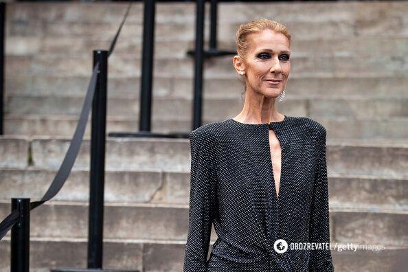 Селін Діон на Тижні моди в Парижі