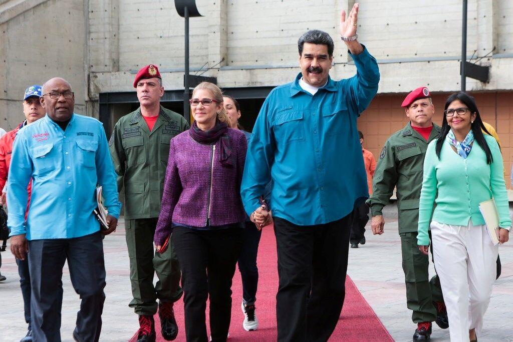 Мадуро и его жена
