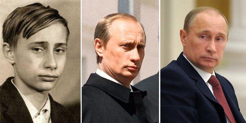 Путін в молодості