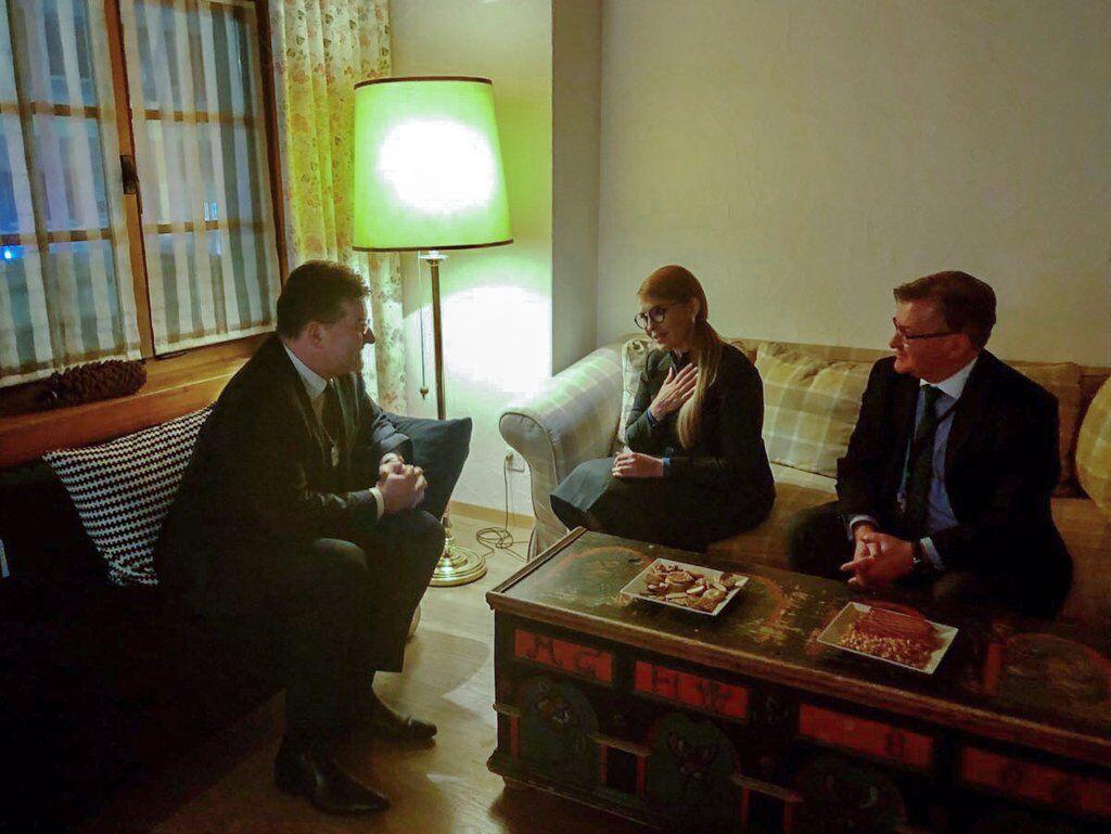 Мирослав Лайчак, Юлия Тимошенко и Григорий Немыря