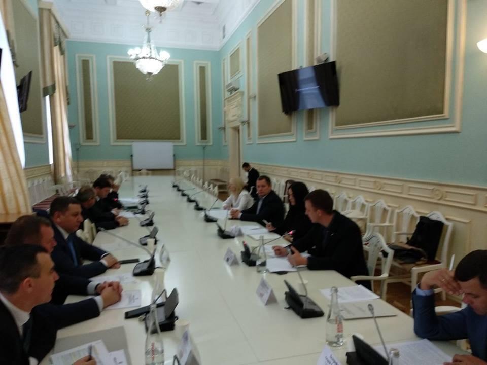 Заседание транспортной комиссии