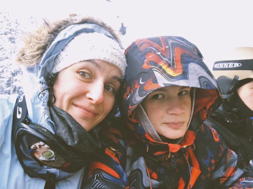 Алена Тараненко с сыном