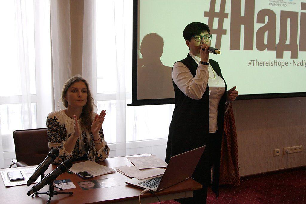 С гранатами в руках: Савченко выдвинули в президенты Украины