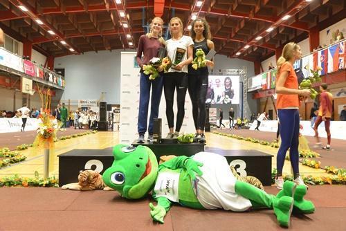 Украинские легкоатлетки выиграли турнир с мировым рекордом