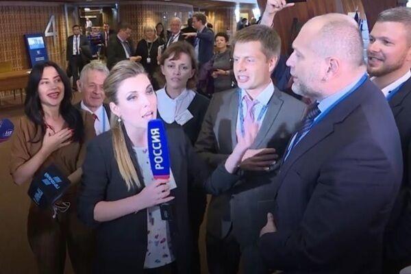 Ольга Скабеева в ПАСЕ