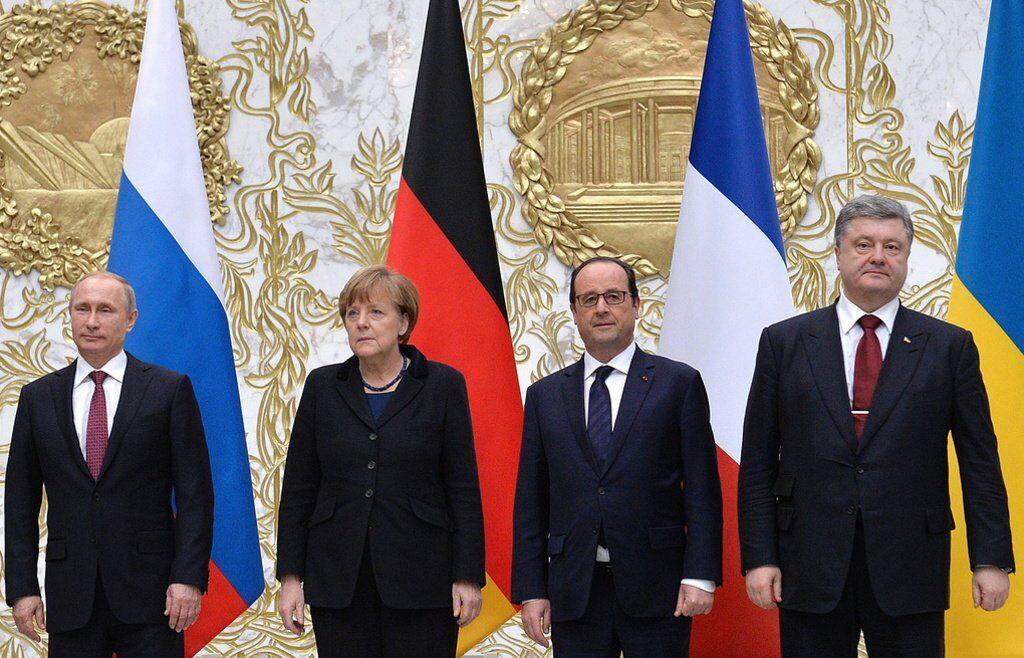 """План должны утвердить страны """"нормандской четверки"""""""
