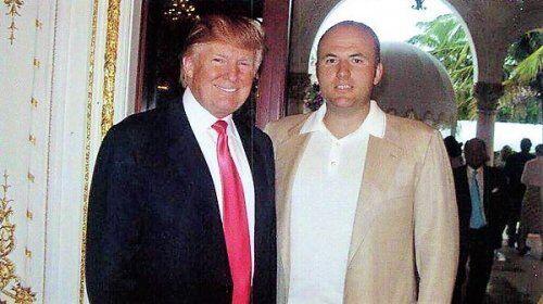 Дональд Трамп и Павел Фукс
