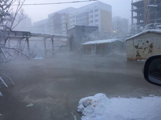 Нечистоти в Якутську