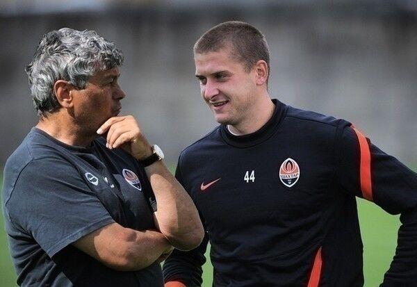 Мирча Луческу вместе с Ярославом Ракицким