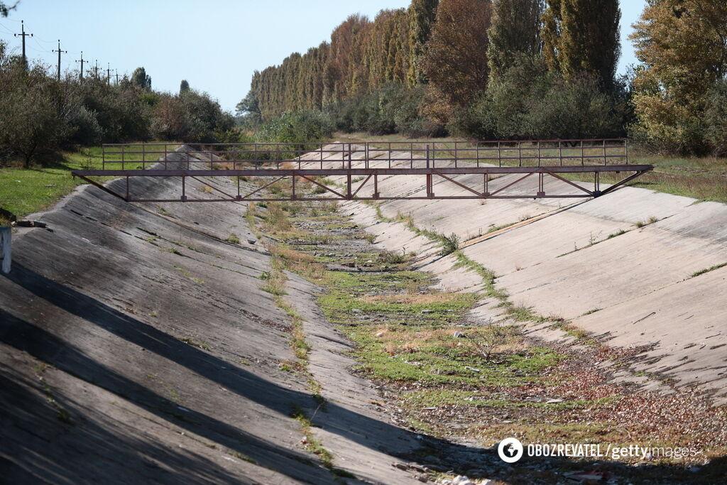 Состояние Северо-Крымского канала
