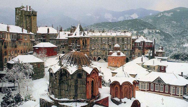 Грецькі монастирі